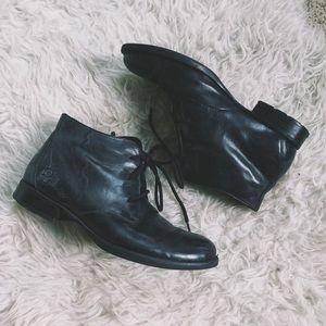 Born Black Ankle Boots